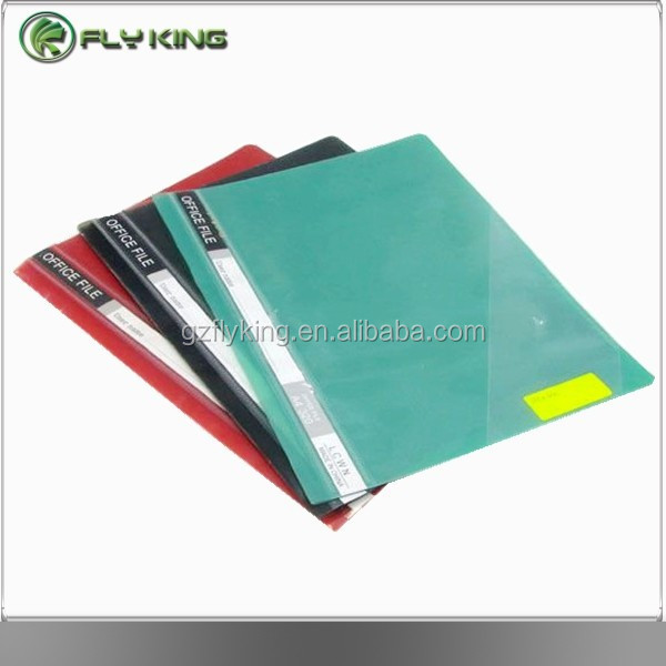 PP Clear Front Report Cover, A4 Report File with Prong Fasteners