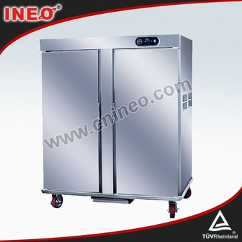 Stainless Steel,Movable,22 Trays,Buffet Cart,2.62Kw,Electric Food Warmer(INEO are professional on commercial kitchen project)