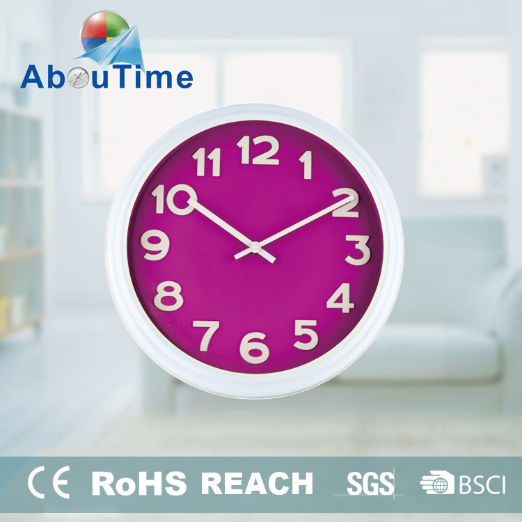 Radium world time wall clock water powered clock for promotion