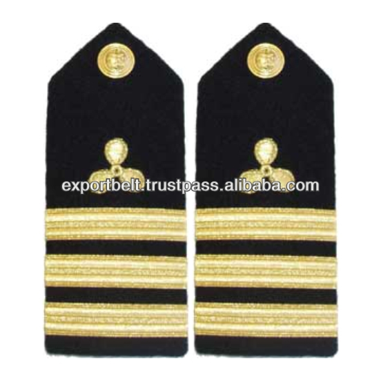 3 Stripe Propeller Shoulder Boards and Epaulets for Senior Lieutenant | Custom Shoulder Boards and Epaulets