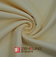 100% Polyester Dry fit Mesh knitted fabric for garment sportswear