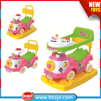 train shape kids riding car with sound
