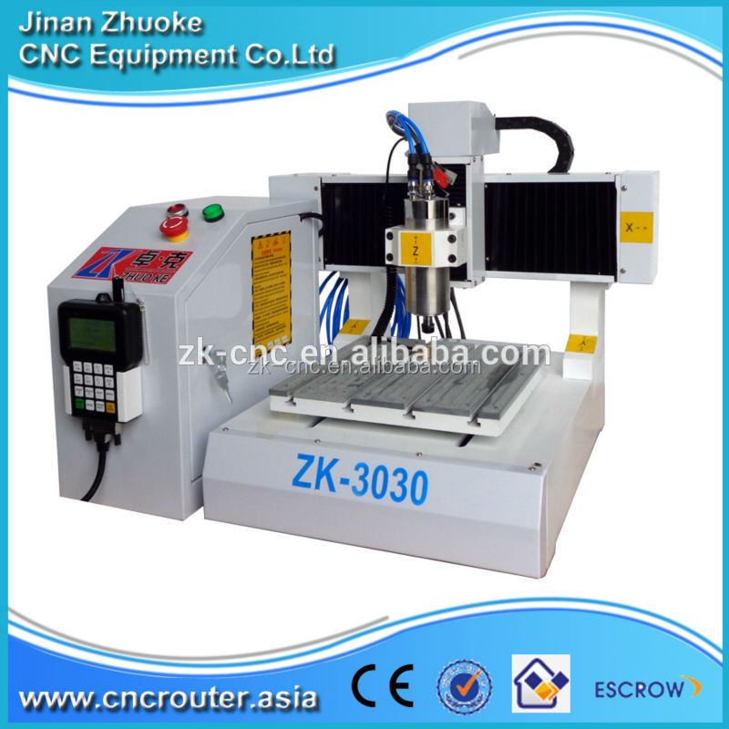 Hobby Prototype PCB CNC Machine Drilling Milling Machine zk-3030 300*300mm