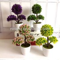 Wholesale Home Ornamental Small Artificial Topiary