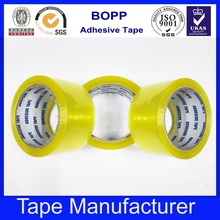 Golden Manufacturer Color Transparent Tape