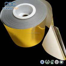 PET Gold Foil Adhesive Sticker Paper Roll inChina
