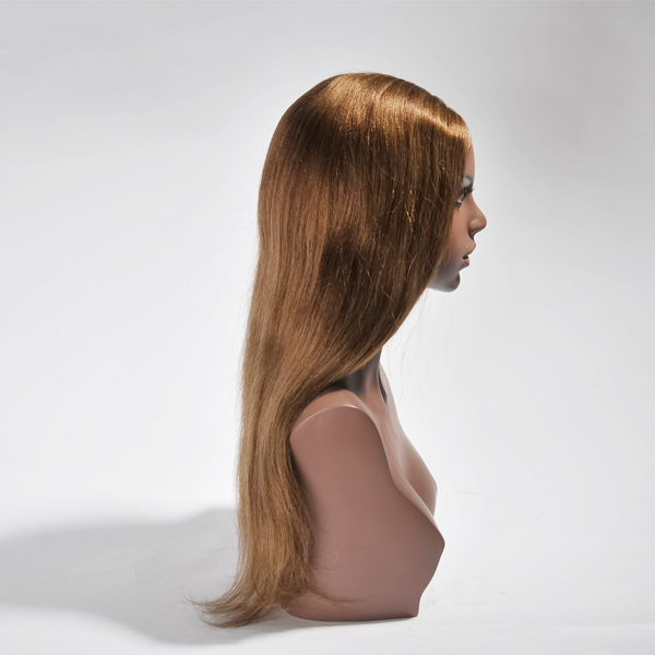 NEW products human hair side part u part wigs cap with combs