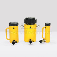 Hydraulic cylinder for sales, safety locknut , single acting, 100 mm stroke, match the pump HHB-700A