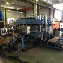 pp/pc/pe/pvc hollow sheet extrusion line for plastic making machine