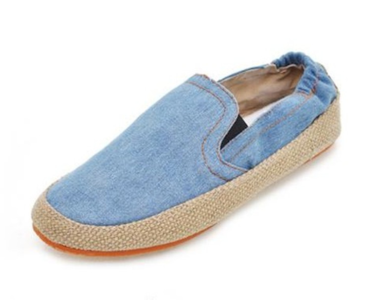 New arrival 2013 spring and autumn shoes lovers shoes denim casual shoes plus size women's shoes 40 41 42 43 44