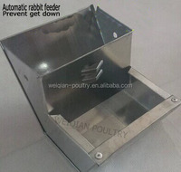 Good Quality rabbit feeding trough/metal rabbit feederfor rabbit cages