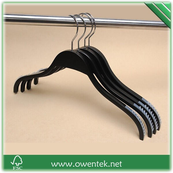 laminated clothes hanger , laminated garment usage wooden hanger , light weight laminated hanger