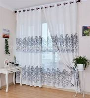 Factory supply inexpensive double window blackout curtains with white lined
