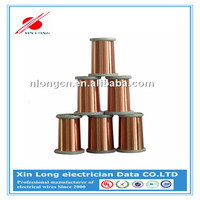 Varnish insulating PEIW H180C enameled copper winding wire for electrical motor