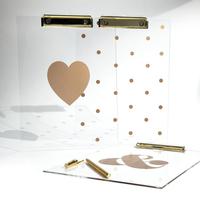 custom acrylic clipboard acrylic clipboard manufacturer acrylic clipboard with gold clip