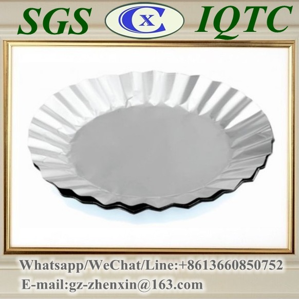<strong>K102</strong> round disposable aluminum foil food steaming container