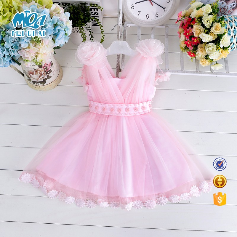 Bulk wholesale kids clothing beautiful ball gowns for children 2 year old girl dress LM010