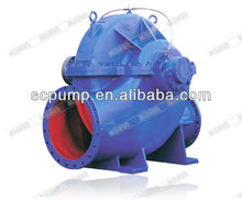 COS industrial centrifugal split case water pump brass impeller