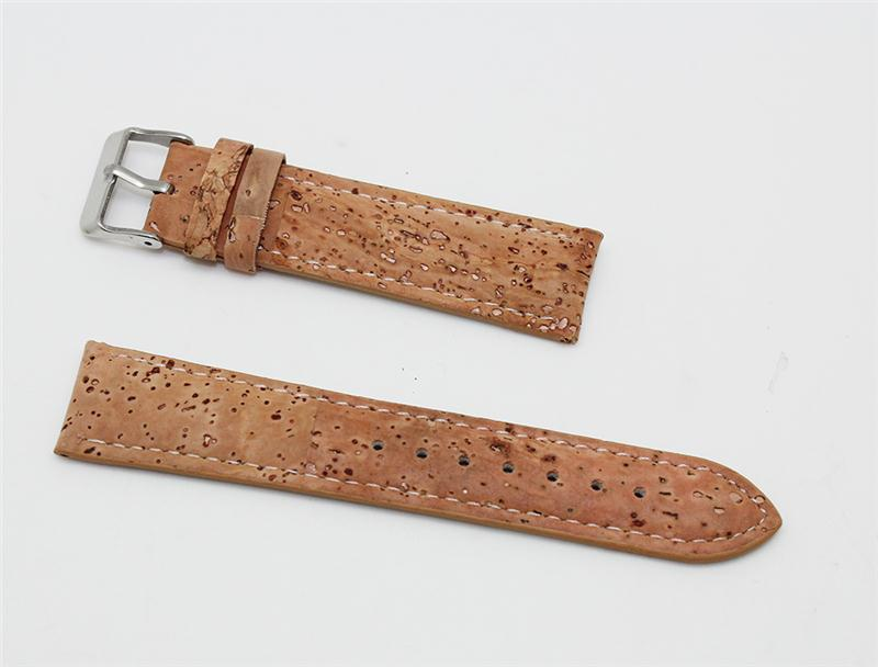 China Wholesale Custom Made Buckle Strap Eco Leather Watch Strap