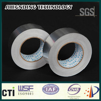 Customer specific! 50um coaxial cable for catv No release paper SIS-50 Synthetic Rubber Aluminum Foil Tape