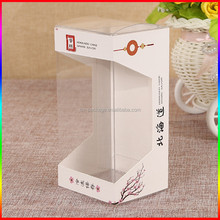 Customized Clear Plastic Bread Box With paper sleeve