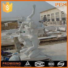 hot sale natural well polished marble eagle sculptures