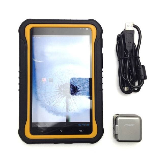 7 inch rugged android 3G WCDMA/Wifi/fingerprint/HF RFID reader tablet PC