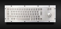 2016 hot-sale vandalproof metal ip65 kiosk keyboard