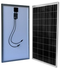 100 Watt 100W Solar Panel for 12 Volt Battery Charging RV, Boat, Off Grid