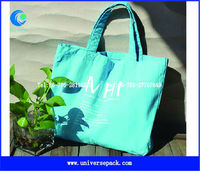 Recyclable colorful cotton canvas tote bag