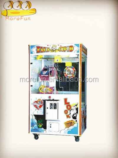 New style/Doll Crane Machine/Crane Machine With Roulette /Elfin Cupid