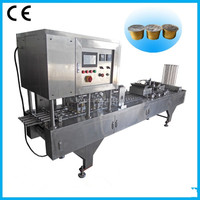 Nespresso coffee capsule filling machine/Coffee capsule filling and sealing machine/Coffee sealing machine