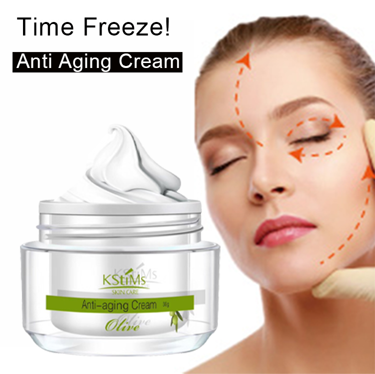 Instant Under Eye Wrinkle Treatment <strong>Collagen</strong> Olive Whitening Anti-wrinkle Anti-ageing Face Cream