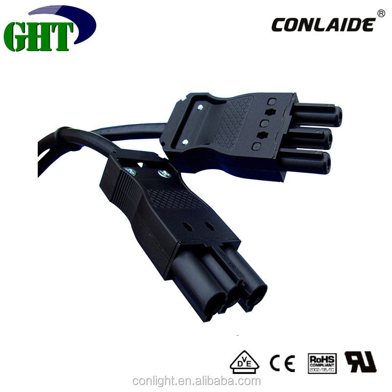 Chinese Factory IP30 3 Pin Male Female Wire Connector With Protection Housing