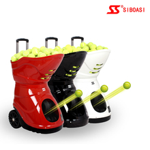 Hot selling SIBOASI S4015 tennis ball training pitching machine not lobster tennis ball machine