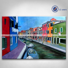 Hot Selling Canvas Handpainted Modern Wall Art Decoration Landscape Oil Paintings