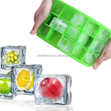 FDA Approved 15 Cavity Silicone Ice Cube Tray,Pop Out Freezer Safe Ice Mold