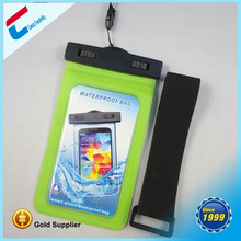 Universal Waterproof PVC Diving Bag Underwater Pouch Case Cover For iphone 5/5s/6 6 plus For samsung galaxy S6 With Arm Band