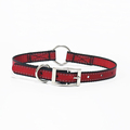 Best selling double thick nylon dog collar reflective o ring for hunting