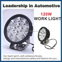 120W LED Driving Light 12/24v Powered Led Work Light for ATVs,SUV,UTV,Truck,Fork