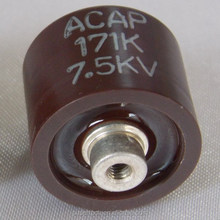 MADE IN TAIWN DoorKnob Capacitor 10KV~40KV High Voltage Ceramic Capacitors