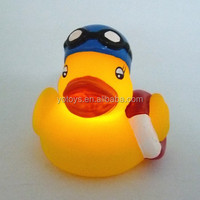 Swimming Flashing Bath Toy Ducks Light