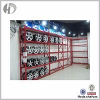Tires display stand racks