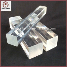 Cast Clear Sqaure Acrylic Rod, Clear Plastic Square Rod
