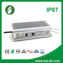 IP67 LED driver constant voltage saa approved 100W 24v power supply