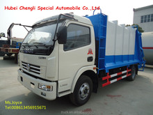 4-7cbm dongfeng garbage compactor truck, 4x2 rubbish truck,trash compactor