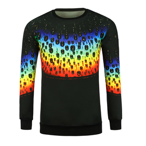 100% polyester digital printing sportswear sports elbow brace long sleeve t shirt men custom quick dry fit t shirts