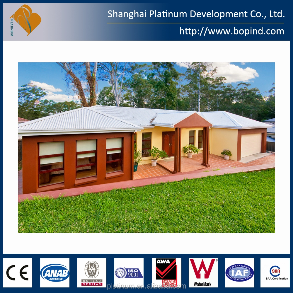 ready made portable steel prefab home turnkey house