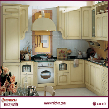 2014 European style distressed kitchen cabinets