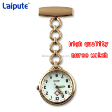 New Smile Portable Nurse Watch with Safety Brooch Pin Hanging Pocket Nurse Fob Watch Relog Luminous Hands Glow in Dark